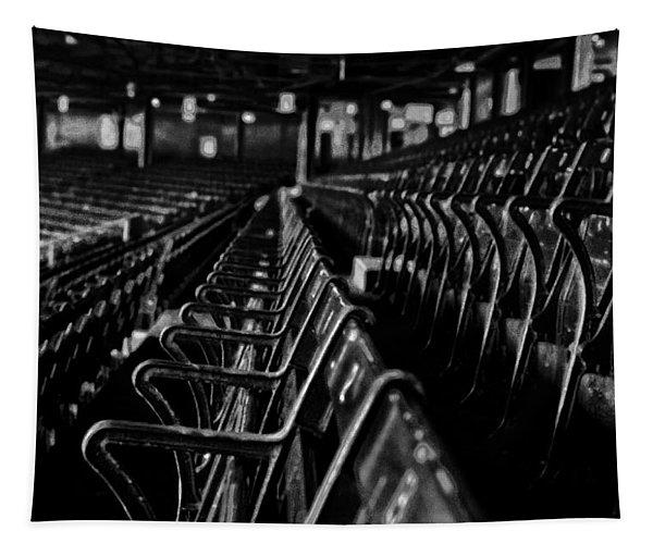 Bostons Fenway Park Baseball Vintage Seats Tapestry