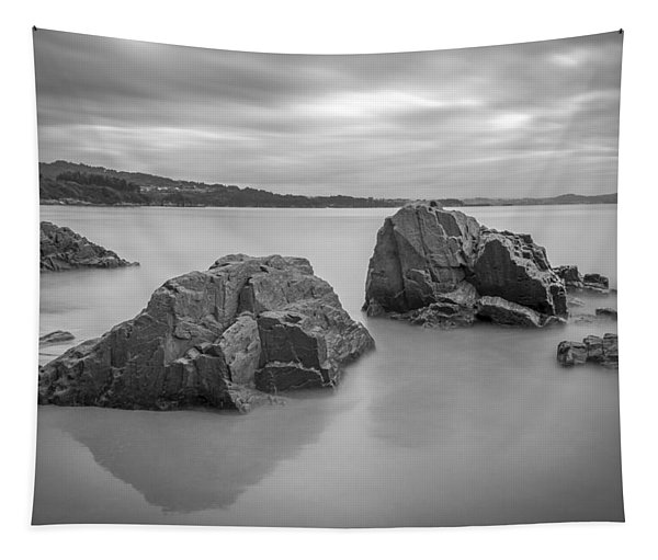 Seselle Beach Galicia Spain Tapestry