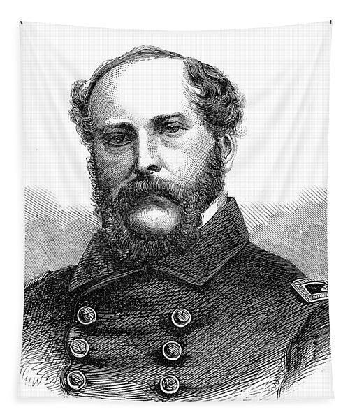 1860s Portrait Captain John A Winslow Tapestry