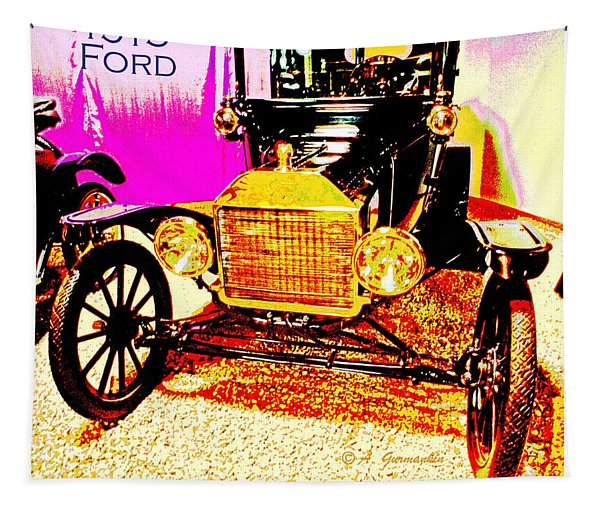 1915 Ford Classic Automobile Tapestry