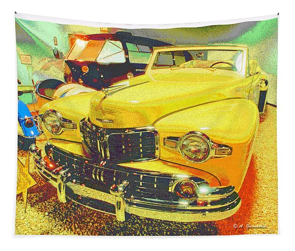 1948 Lincoln Classic Automobile Tapestry