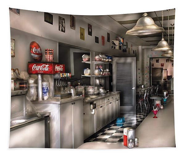 1950's - The Soda Fountain Tapestry
