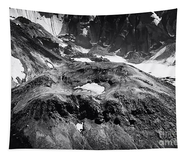 Mt St. Helen's Crater Tapestry