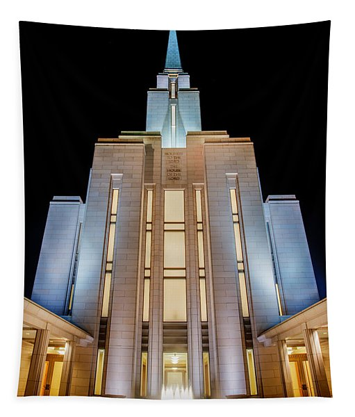 Oquirrh Mountain Temple 1 Tapestry