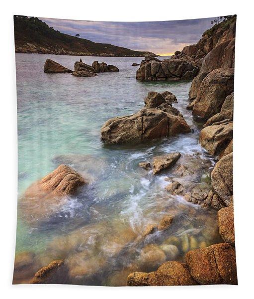 Chanteiro Beach Galicia Spain Tapestry