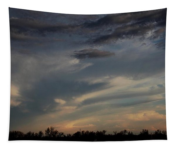 Tapestry featuring the photograph Let The Storm Season Begin by NebraskaSC