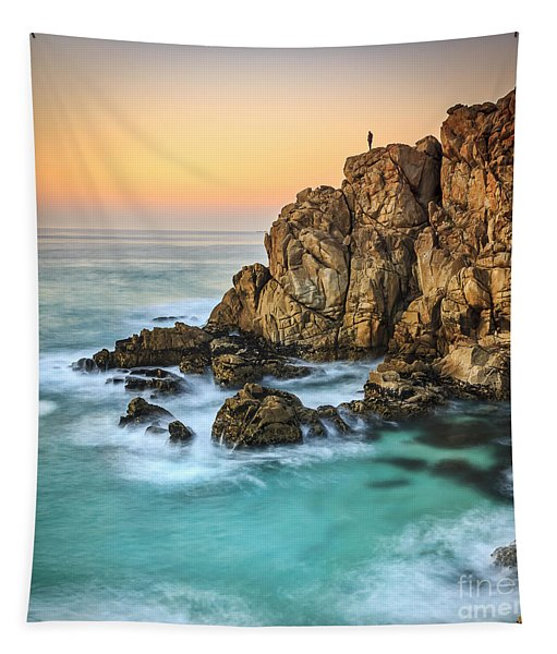 Penencia Point Galicia Spain Tapestry