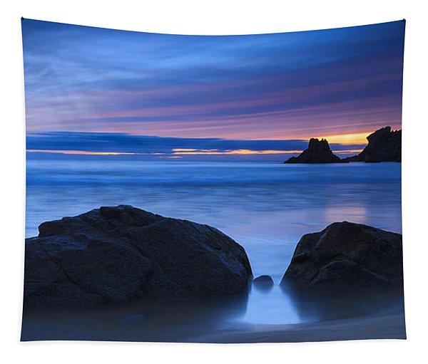Campelo Beach Galicia Spain Tapestry
