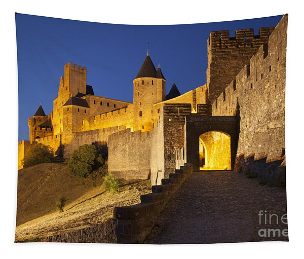 Medieval Carcassonne Tapestry