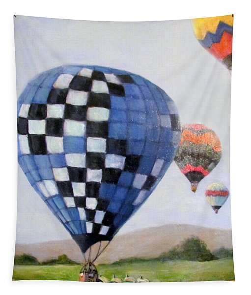 A Balloon Disaster Tapestry