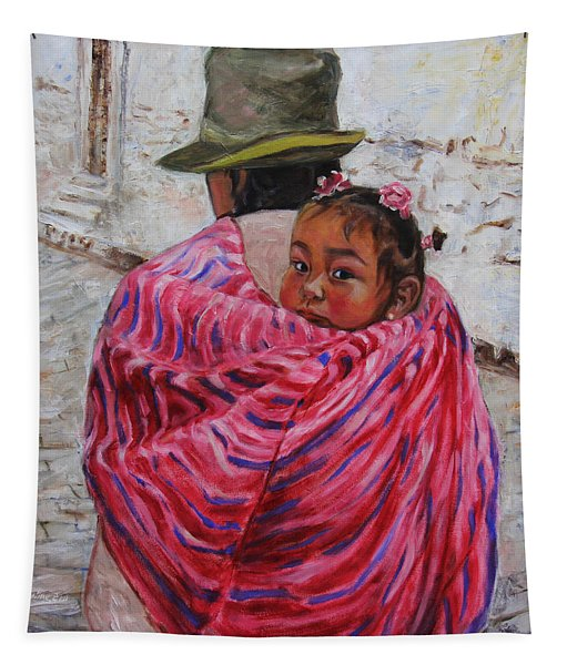 A Bundle Buggy Swaddle - Peru Impression IIi Tapestry