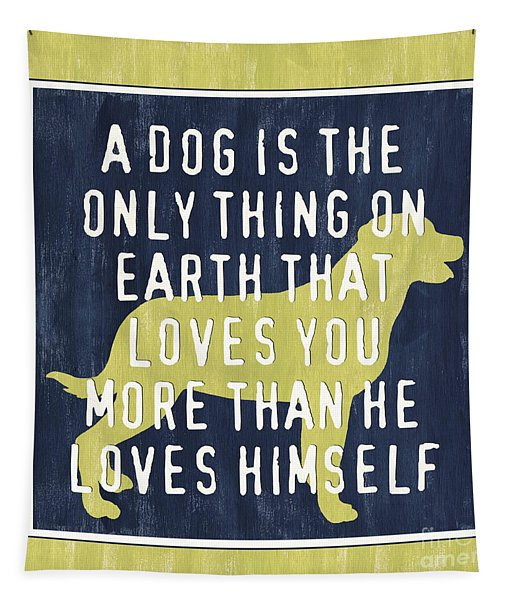 A Dog... Tapestry