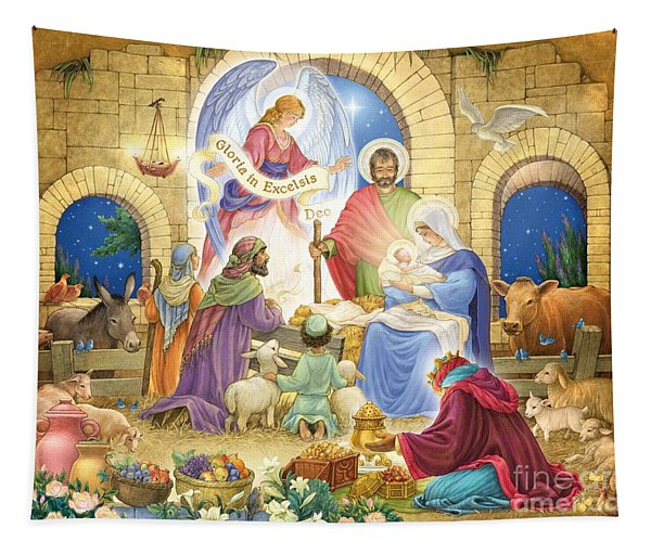 A Glorious Nativity Tapestry