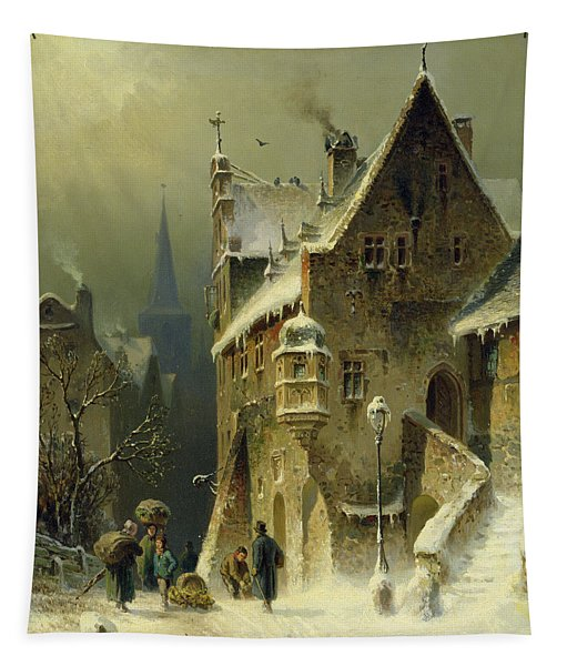 A Small Town In The Rhine Tapestry