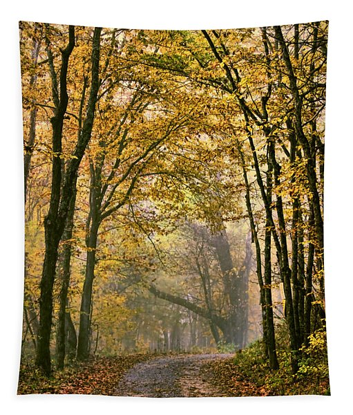 A Touch Of Gold Tapestry