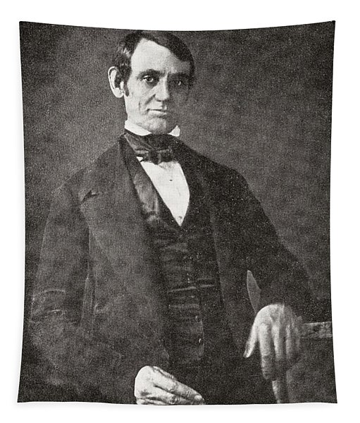 Abraham Lincoln, 1809 – 1865.  16th President Of The United States Of America.  From Abraham Tapestry