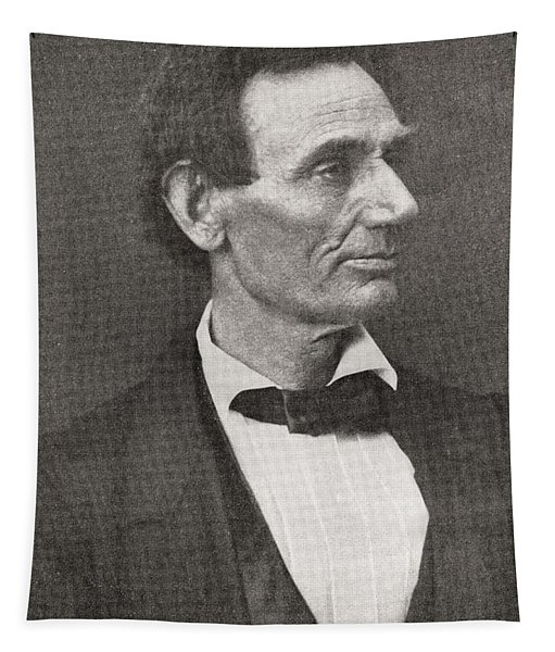 Abraham Lincoln, 1860 Tapestry