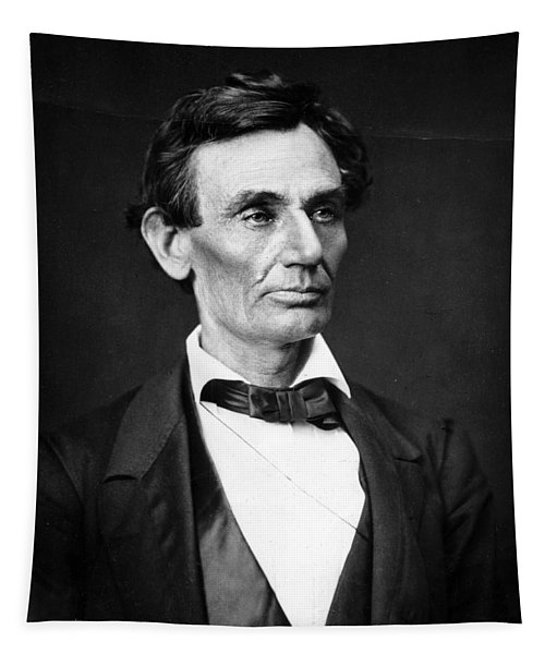 Abraham Lincoln Portrait Tapestry