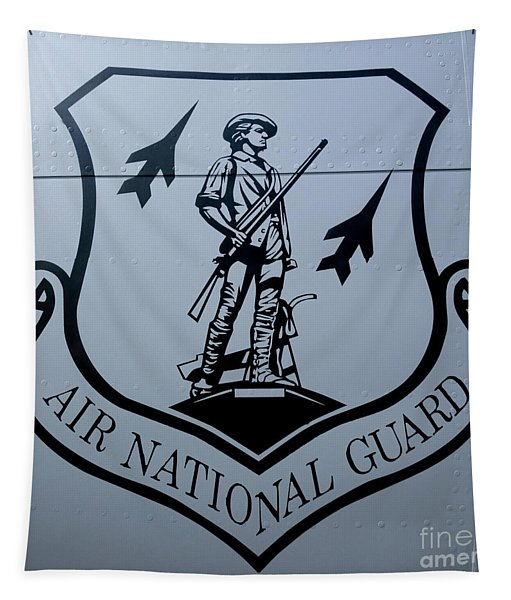 Air National Guard Shield Tapestry