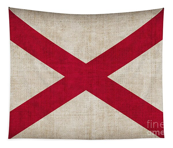 Alabama State Flag Tapestry