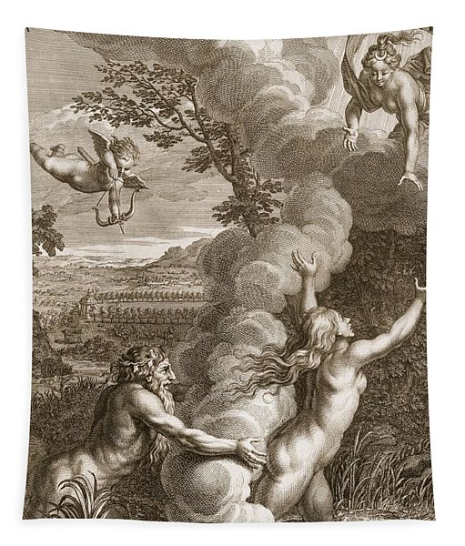 Arethusa Pursued By Alpheus And Turned Tapestry