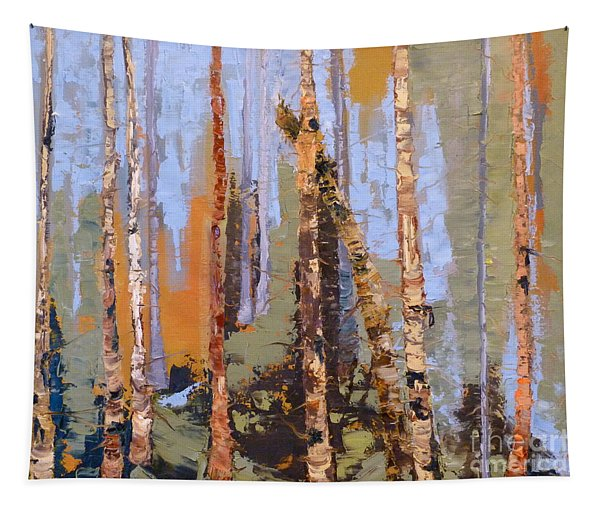 Aspen Forest Colorado Tapestry