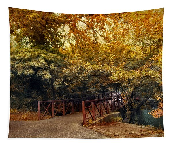 Autumn Crossing Tapestry
