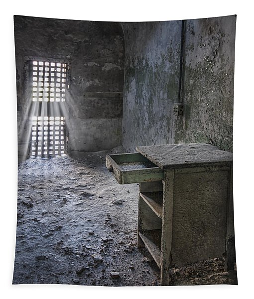 Behind The Bars Tapestry