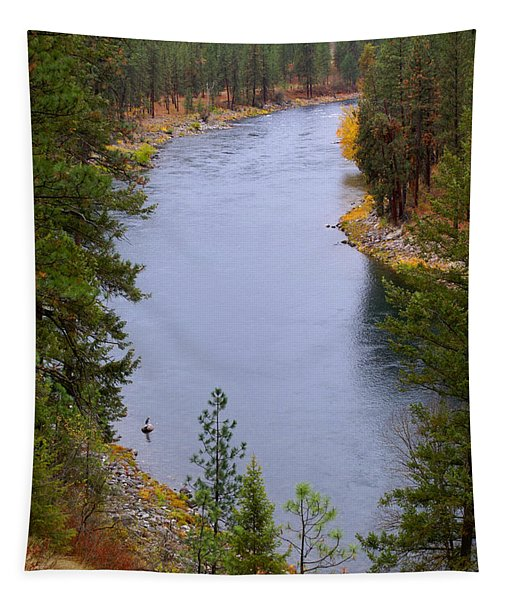Bend In The River Tapestry