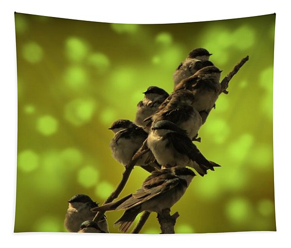 Birds Of A Feather Tapestry