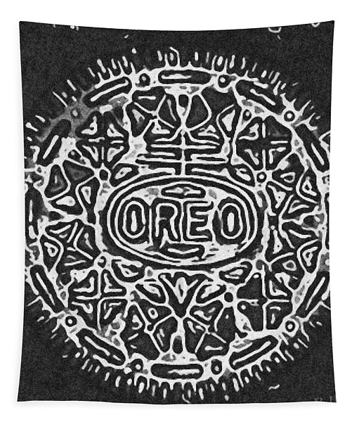 Black And White Oreo Tapestry
