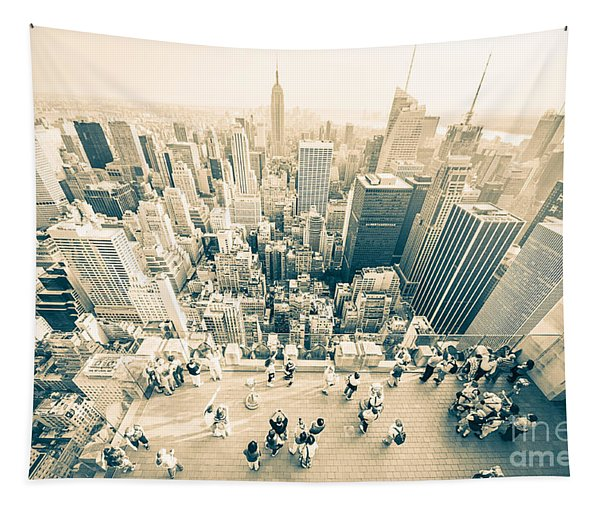 Bleached Manhattan Tapestry