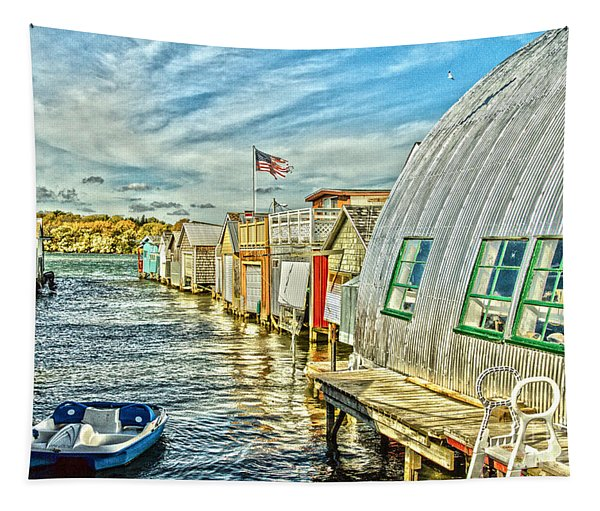 Boathouse Alley Tapestry