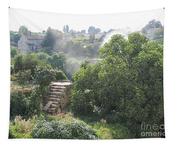 Bordeaux Village Cloud Of Smoke  Tapestry