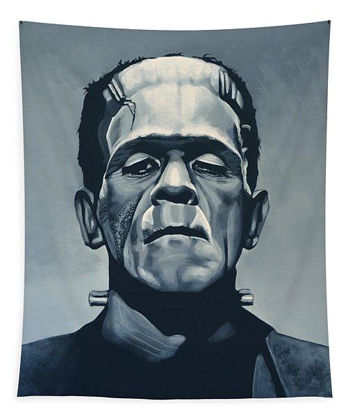 Boris Karloff As Frankenstein  Tapestry