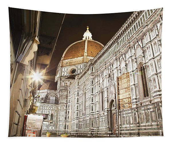 Buildings And Florence Cathedral Tapestry