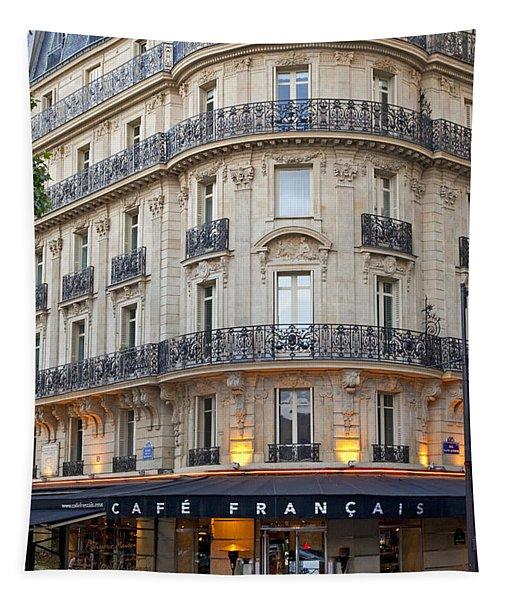 Cafe Francais Tapestry