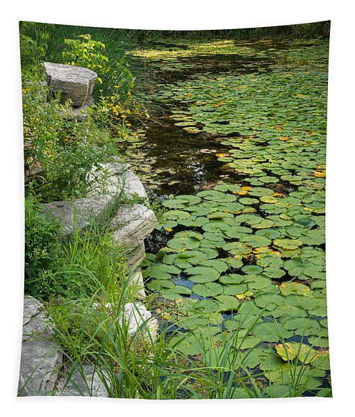 Caldwell Lily Pond Chicago Il Number 2 Tapestry