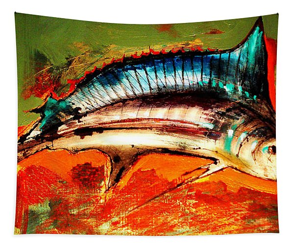 Catch Of The Day Tapestry