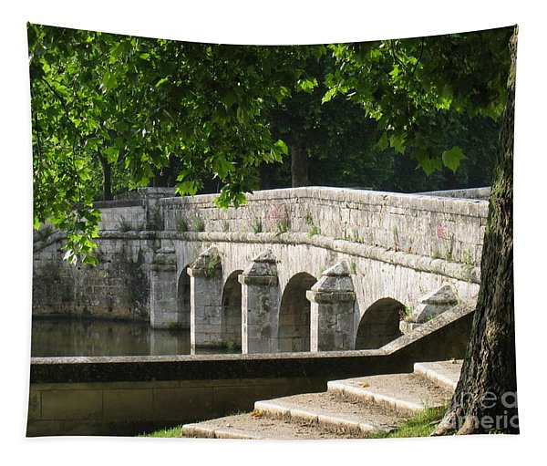 Chateau Chambord Bridge Tapestry