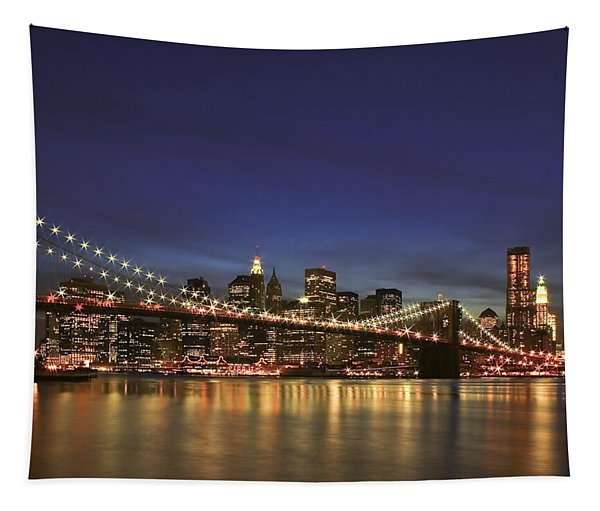 City Of Lights Tapestry