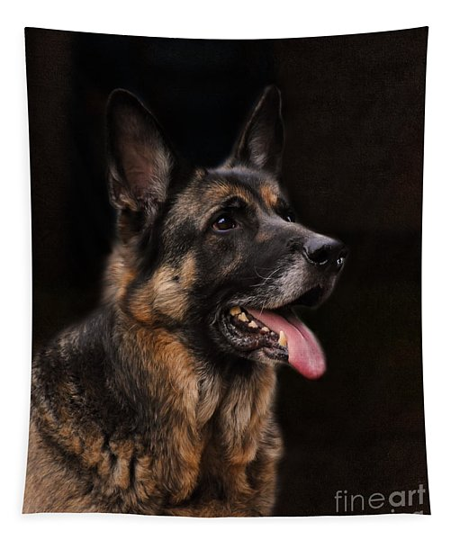 Classic German Shepherd Tapestry