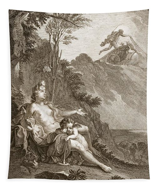 Clytia Turned Into A Turnesole, 1731 Tapestry
