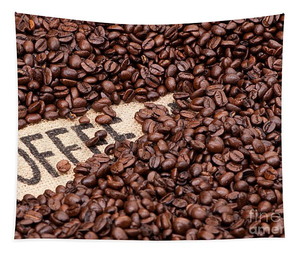 Coffee Beans Tapestry