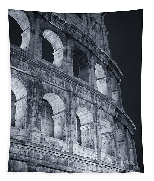 Colosseum Before Dawn Tapestry