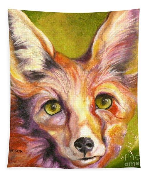 Colorado Fox Tapestry