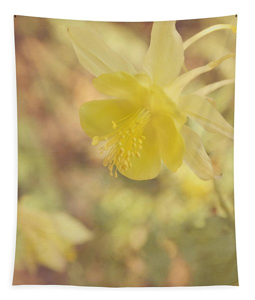 Columbine Flower Tapestry