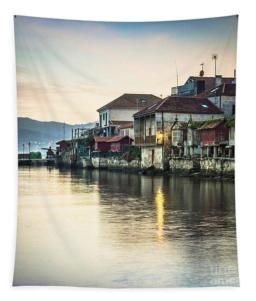 Combarro Pontevedra Galicia Spain Tapestry