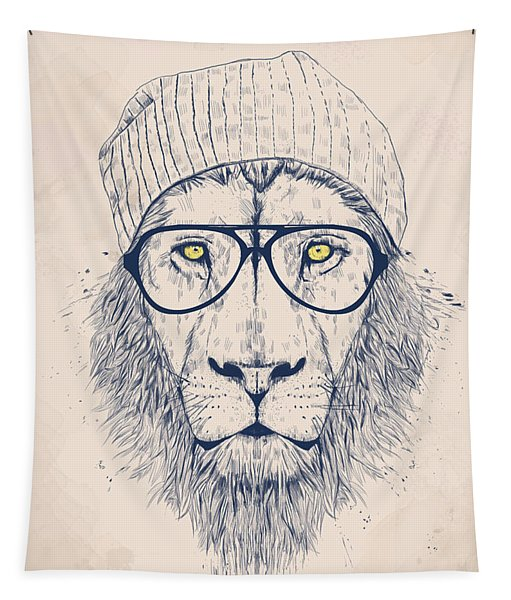Cool Lion Tapestry