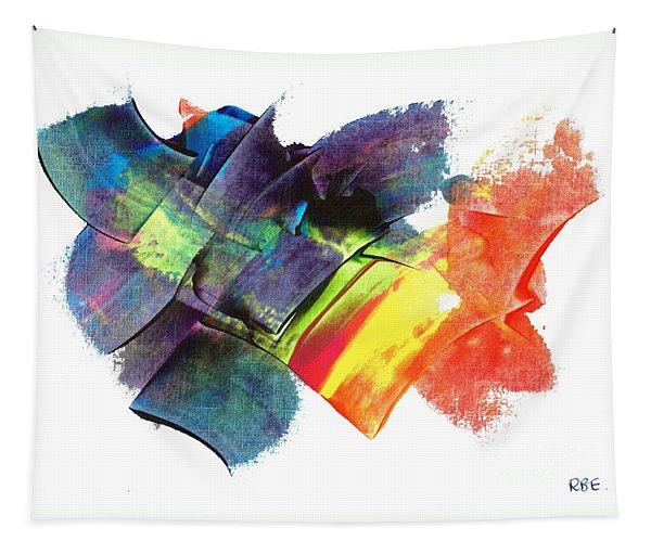 Crystaline Rainbows Tapestry